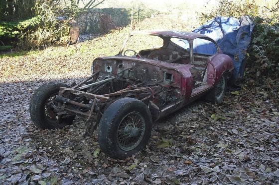 Jaguar E-Type Nr. 15 restauriert