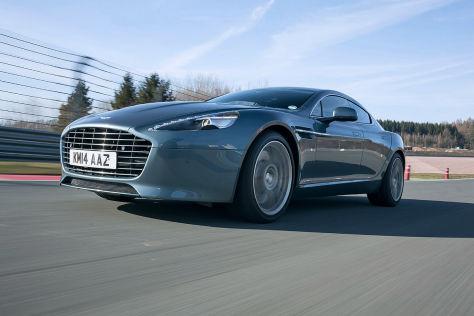 Aston Martin macht Tesla Konkurrenz