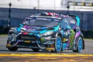 Block verkauft Drift-Fiesta