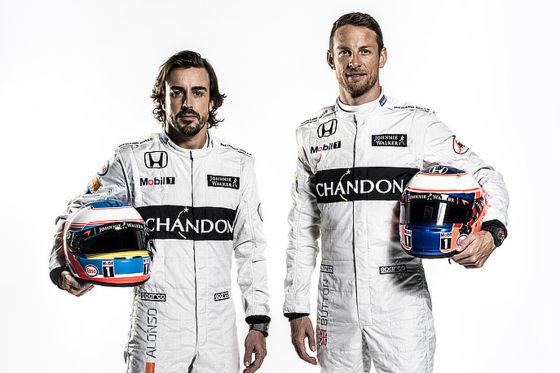 Alonso & Button