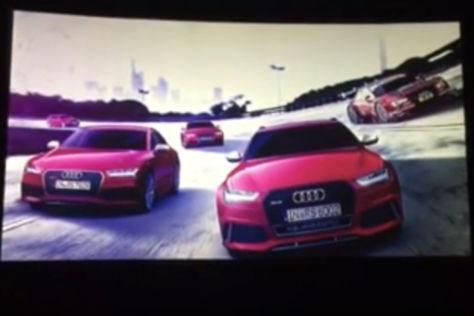 Neue Audi RS-Modelle: Vorschau