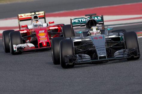 Mercedes & Ferrari