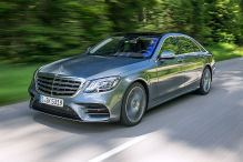 Mercedes S-Klasse Facelift (2017): Erlkönig