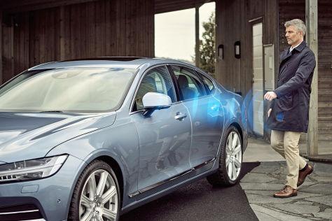 Volvo: Smartphone-App statt Autoschlüssel