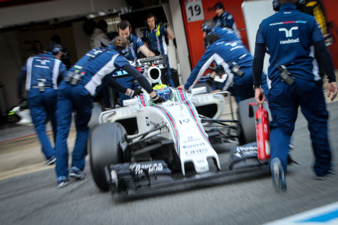 F1-Testfahrten Barcelona