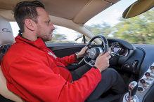 Bugatti Chiron im Test (Genf 2016): Sitzprobe