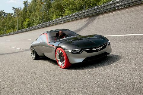 Opel GT Concept (Genf 2016): Sitzprobe