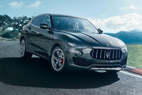 Maserati Levante im Test (Genf 2016): Sitzprobe