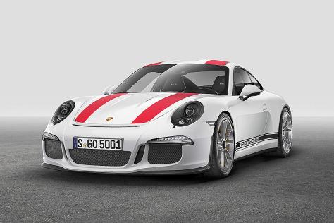 Porsche 911 R (Genf 2016): Vorstellung