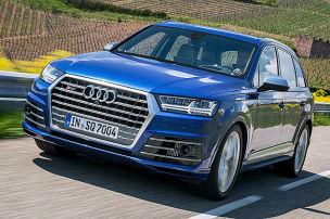 So f�hrt der Audi SQ7