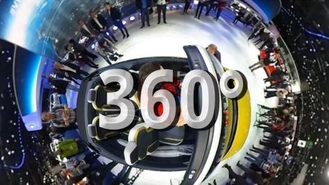 Genfer Autosalon: 360-Grad-Videos