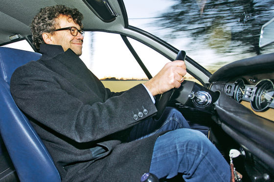 Bernd Wieland im Lancia Flavia Zagato