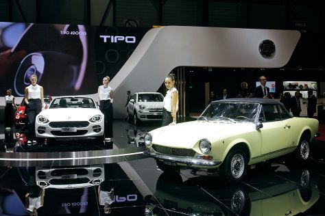 Autopaare auf dem Autosalon Genf 2016