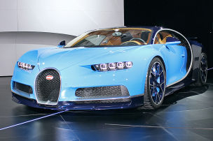 Acht Bugatti-Superlative