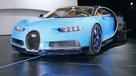 Faktencheck: Bugatti Chiron (2016)