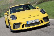 Porsche 911 GT3 Facelift: Erlkönig