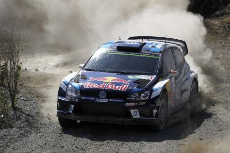Gegen Jari-Matti Latvala war bei der Rallye Mexiko kein Kraut gewachsen