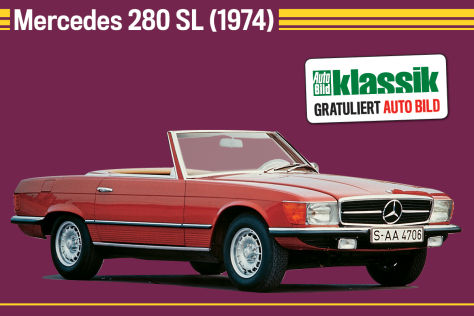 Mercedes 280 SL (1974)