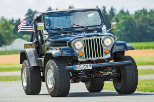 Jeep CJ-7 V8 im Test: Fahrbericht
