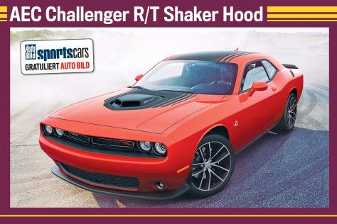AEC Challenger R/T Shaker Hood