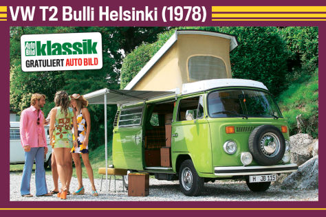 VW T2 Bulli Helsinki (1978)