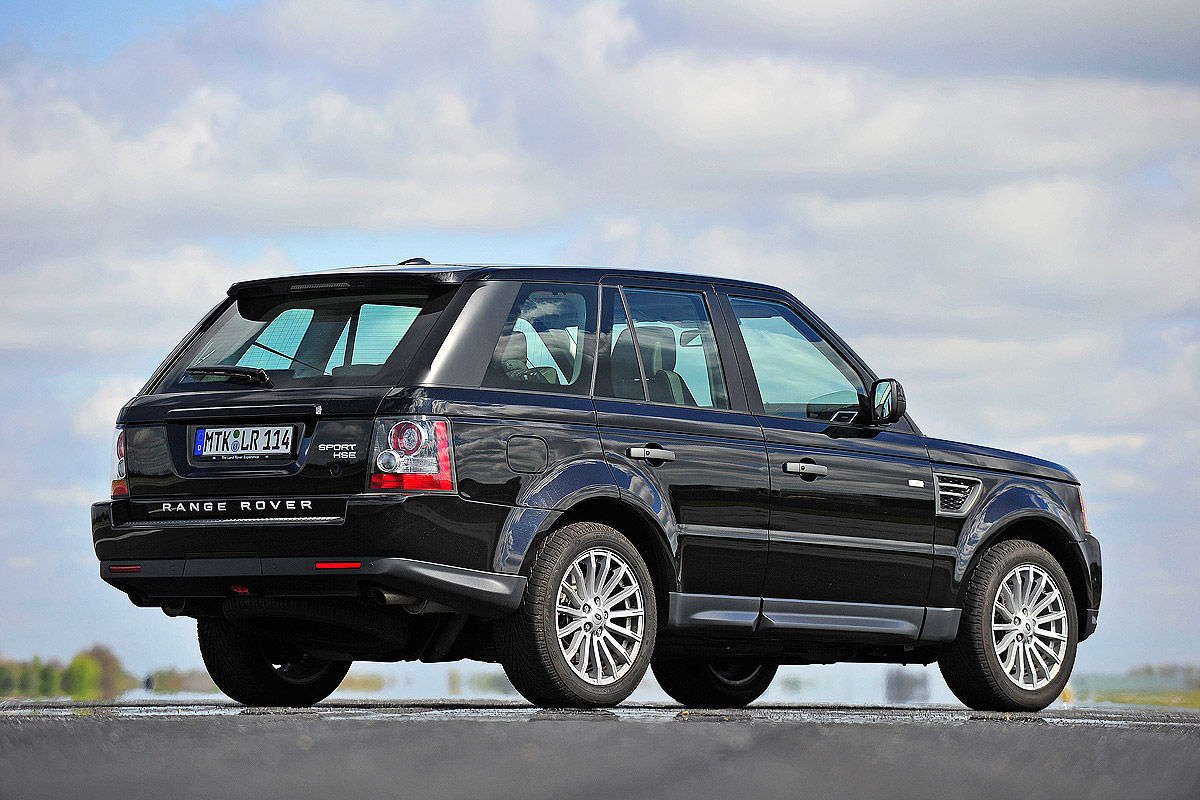 range rover sport 1 gebrauchtwagen test bilder. Black Bedroom Furniture Sets. Home Design Ideas