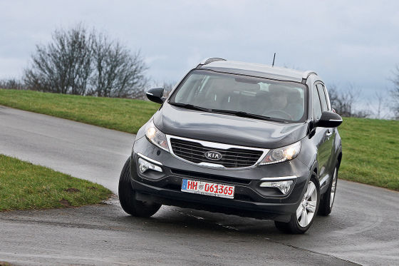 kia sportage typ sl gebrauchtwagen test. Black Bedroom Furniture Sets. Home Design Ideas