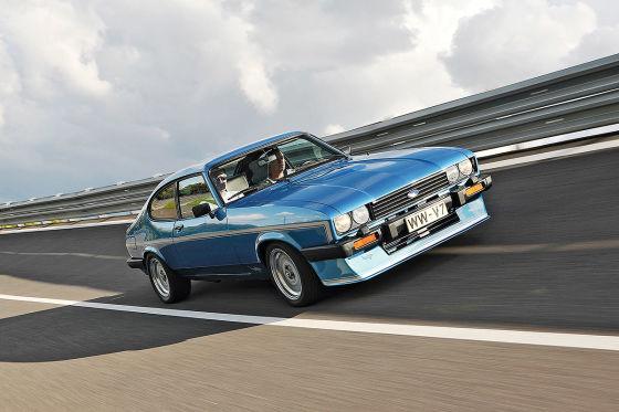 Ford Capri RS, Mako, Zakspeed: heiße Versionen