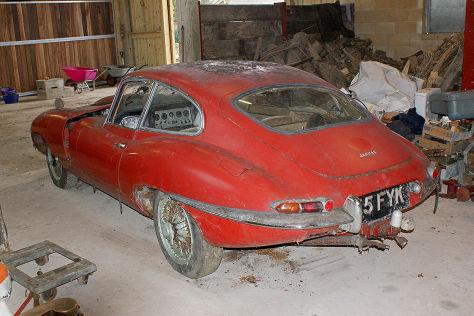 Scheunenfund: Jaguar E-Type Series 1