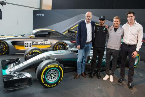 Toto Wolff will Lewis Hamilton und Nico Rosberg mehr Freiheiten gewähren
