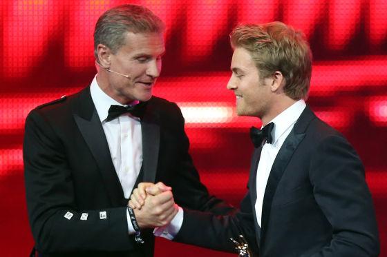 David Coulthard & Nico Rosberg