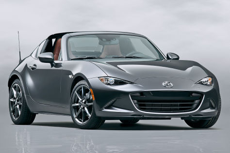 Mazda MX-5 Roadster-Coupé (New York 2016): Vorschau