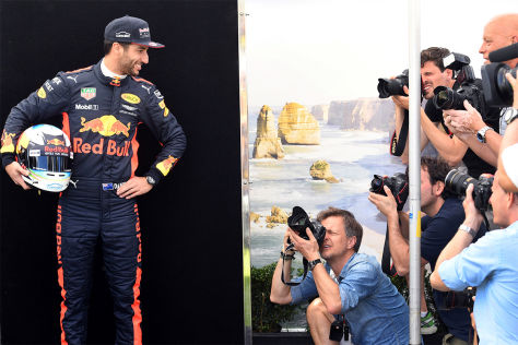 Formel 1: Fahrer und Helme 2016