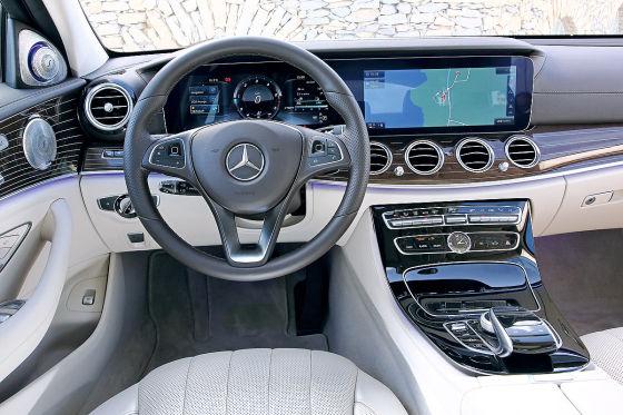 Mercedes E Class Coupe  Interior