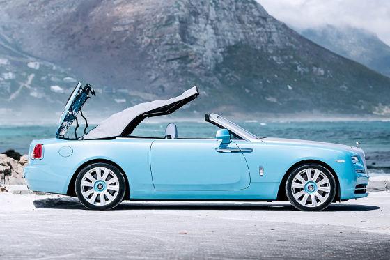 Fahrt im teuersten Cabrio der Welt