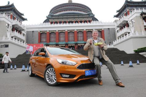 Ford Focus Weltreise St. Petersburg