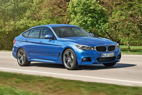 BMW 3er GT (2016): Erlkönig