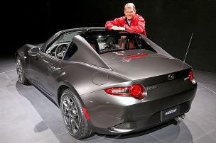 Mazda MX-5 RF (NYIAS 2016): Sitzprobe