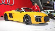 Audi R8 Spyder (New York 2016): Sitzprobe