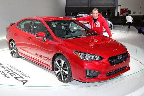 Subaru Impreza (New York 2016): Sitzprobe
