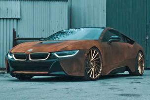 BMW i8 von Metro Wrapz