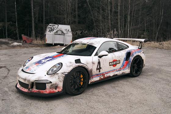 Porsche 911 GT3 RS von Wrap Zone