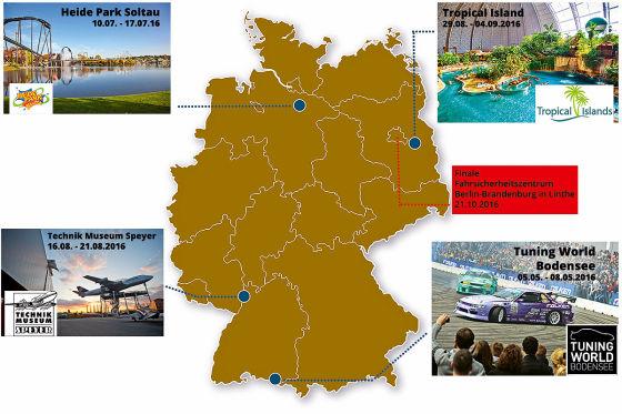 Deutschlands beste Autofahrer 2016
