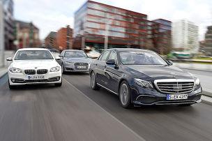Mercedes E-Klasse/Audi A6/BMW 5er: Test