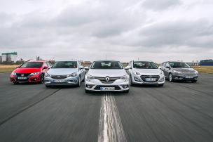 Astra/Civic/Focus/i30/M�gane: Vergleich