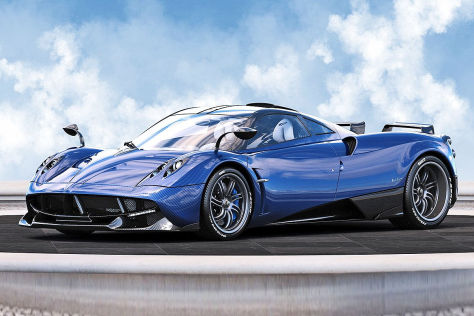 Pagani Huayra (2016): Sonderedition