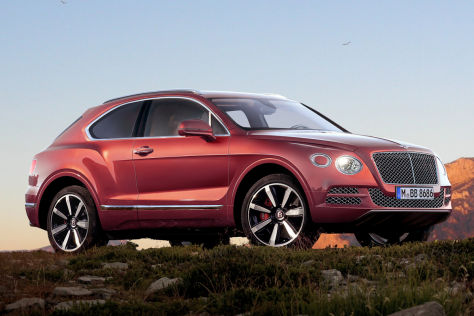 Studie Bentley EXP 9F