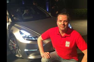 Tesla Model 3 (2016): Sitzprobe/Mitfahrt