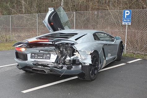 Lamborghini im Schleichtempo