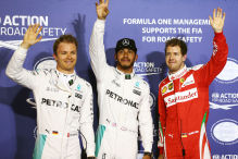 Rosberg und Vettel erste Verfolger